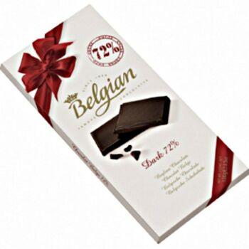 Belgian Étcsokoládé 72% 100g