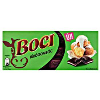 Boci Túrógombóc túróízű krémmel töltött étcsokoládé ostyadarabokkal 90 g