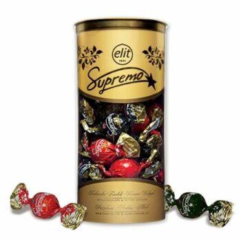 Elit Supremo Ét-Tejcsokoládé Golyók Mogyorókrémmel Töltve 350g