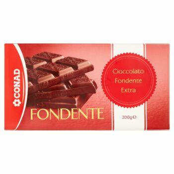 Eredeti Svájci Gyártású Fondente Dark  Csokoládé Extra 50% kakaótartalommal 200g