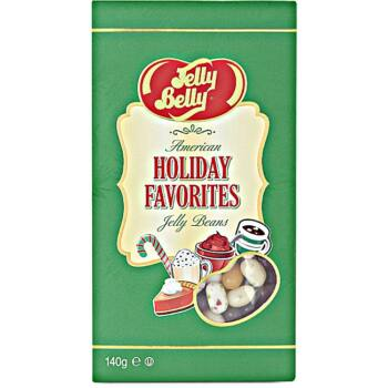 Jelly Belly Amerikai Ünnepi Válogatás Díszdobozban (5 íz) 140g