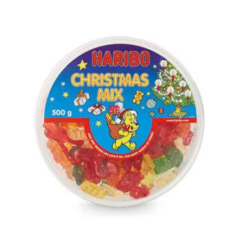 Haribo Karácsonyi Gyümölcsízű Gumicukor Kollekció 500g