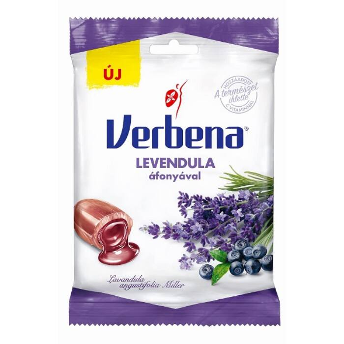 Verbena töltött cukorka Levendula 60g