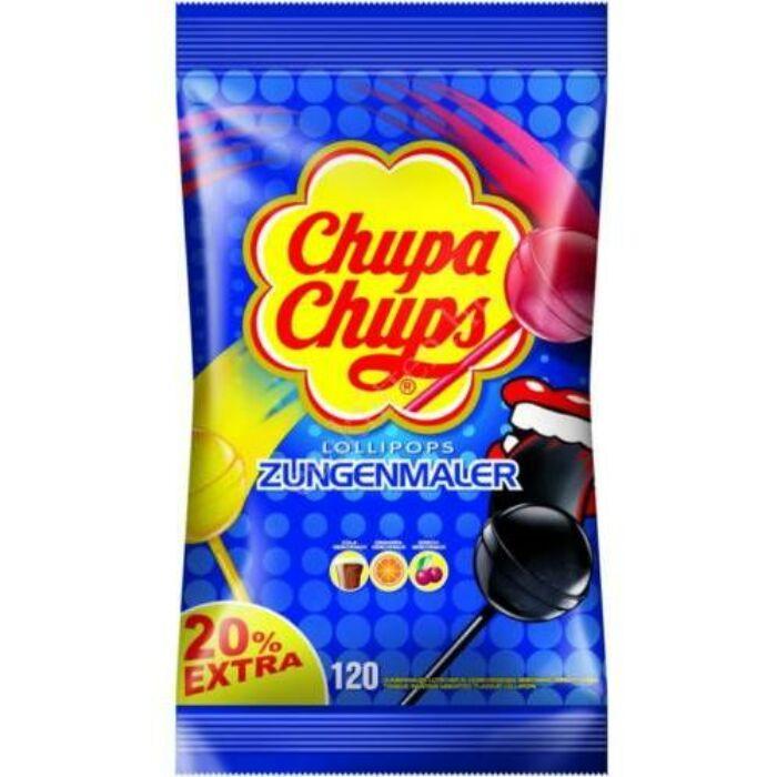 Chupa Chups Nyelvfestő Nyalóka Ízválogatás 1440 g (120db-os)