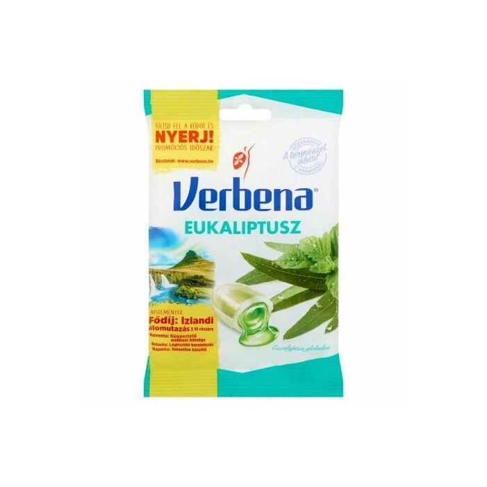 Verbena töltött cukorka Eukaliptusz 60g