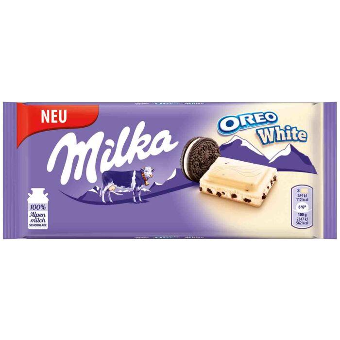Milka Oreo Fehércsoki 100g