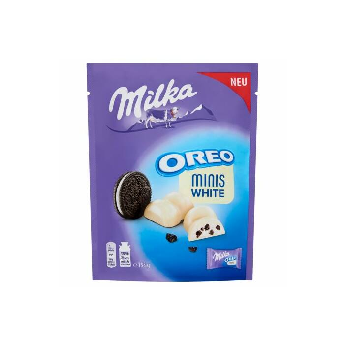 Milka Oreo Minis Fehér Csoki 153g