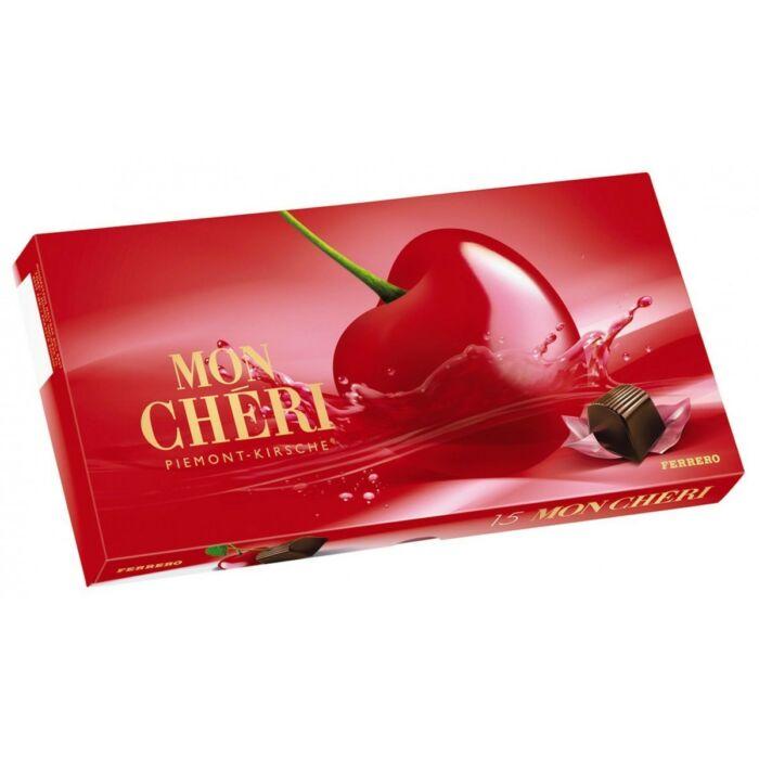 Mon Chéri Csokoládépraliné Egész Szem Cseresznyével Likőrben 157,5 g