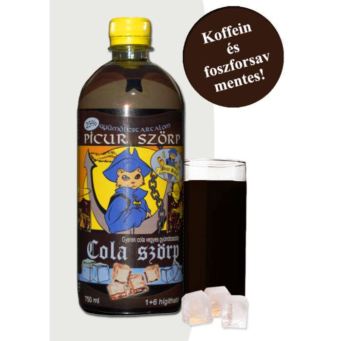 Picur Szörp-Cola Ízben 750ml