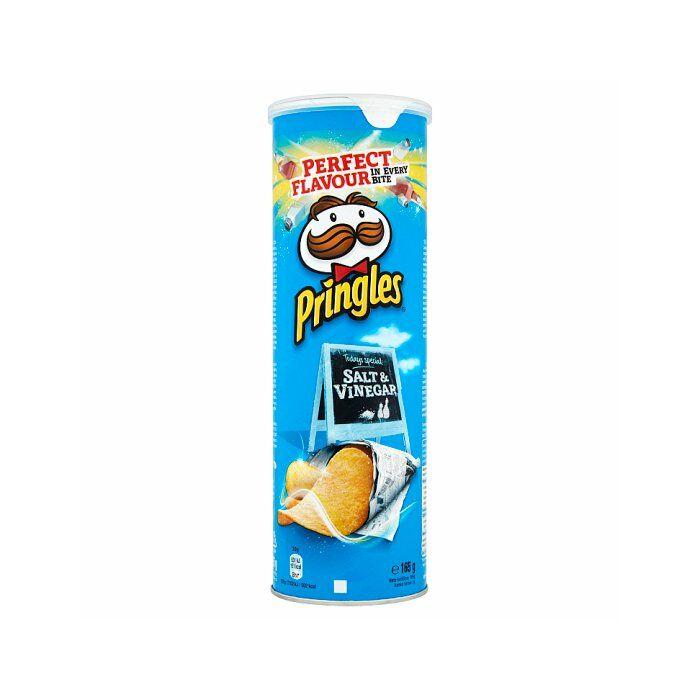 Pringles Sós-Ecetes 165g