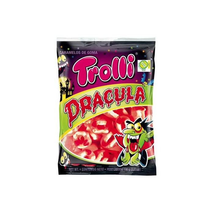 Trolli Gumicukor Drakula 100g