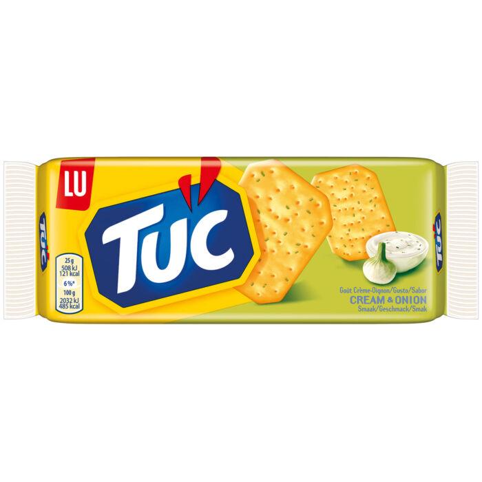 TUC kréker hagymás-tejfölös 100g
