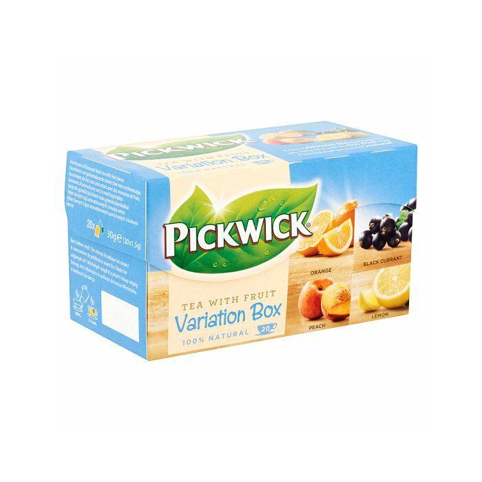 Pickwick Variációk Fekete Gyümölcs Tea Válogatás (kék) 30g
