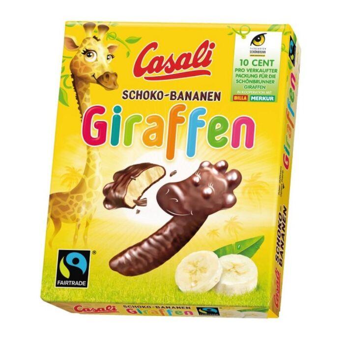 Casali Schoko-Bananen Zsiráf 140g