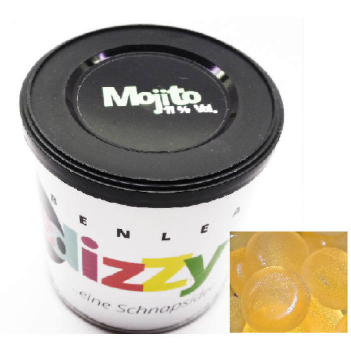 Bedizzy Alkoholos  Mojito gumicukor 150g