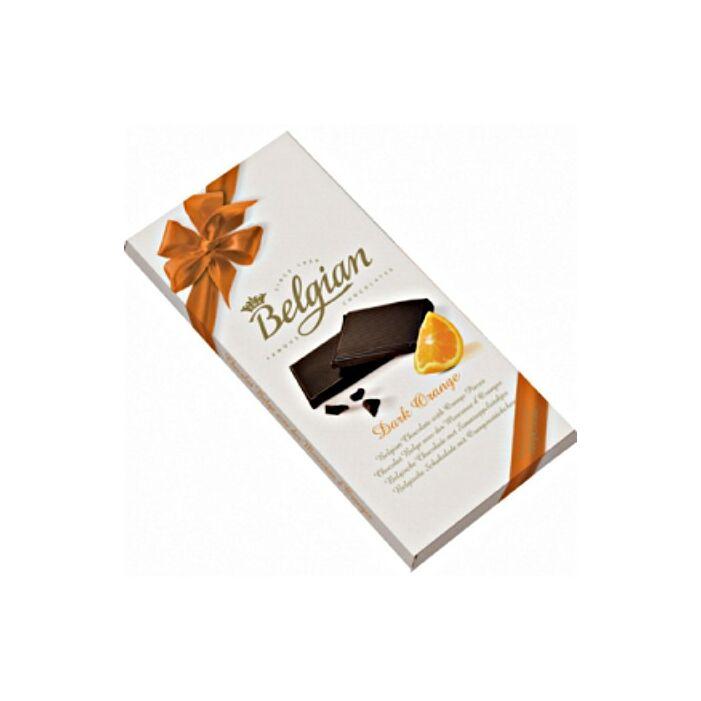 Belgian Narancsos Étcsokoládé 100g