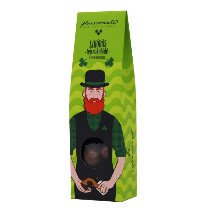 Passionate Krémwhisky Ízű Tejcsokoládé Bonbon Drazsé Díszdobozban 80g