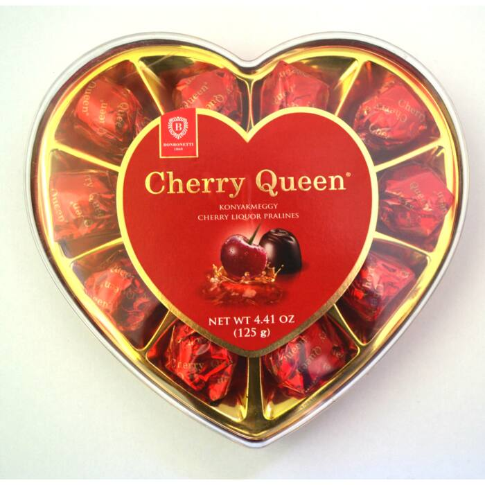 Cherry Queen Konyak Meggy Szívdoboz 125g