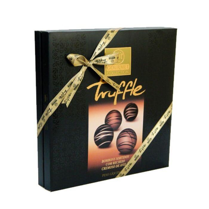 Elit Gourmet Mogyoró Krémmel Töltött Ét- és Tejcsokoládé Praliné Collection 325 g