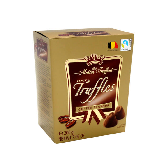 Maitre Fancy Kávés Trüffel Praliné 200g