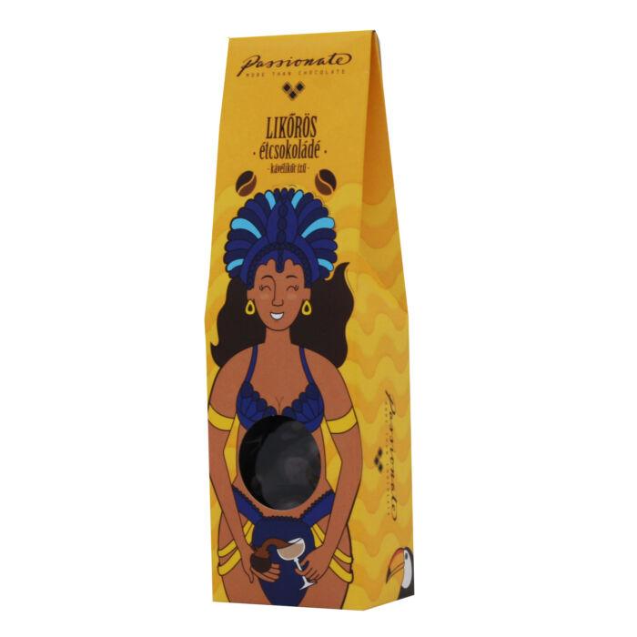 Passionate Kávélikőr Ízű Étcsokoládé Bonbon Drazsé Díszdobozban 80g