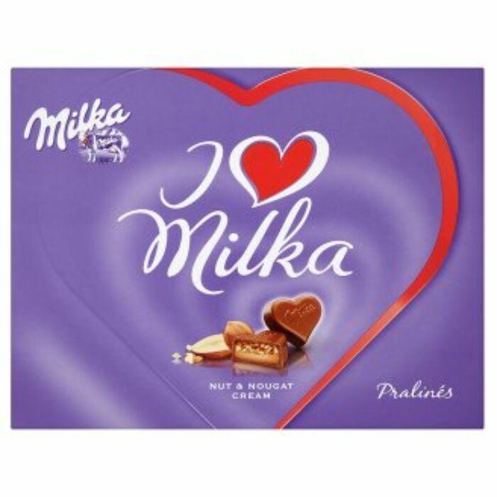 Milka I Love Mogyorókrémes 110g