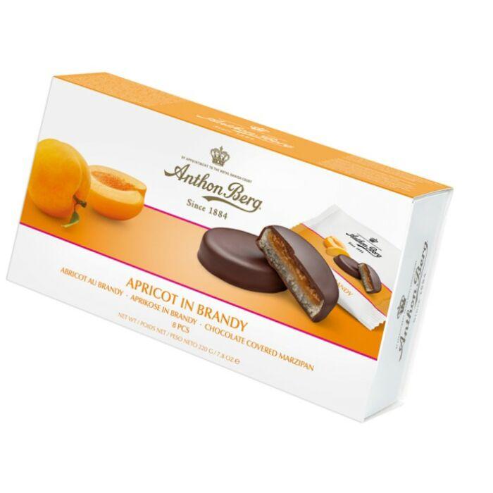Anthon Berg Chocolate Marcipánnal és Konyakos Sárgabarackkal 220g