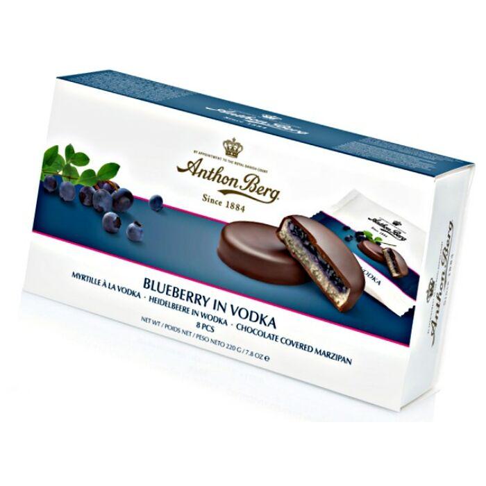 Anthon Berg Chocolate Marcipánnal és Áfonyás Vodkával 220g