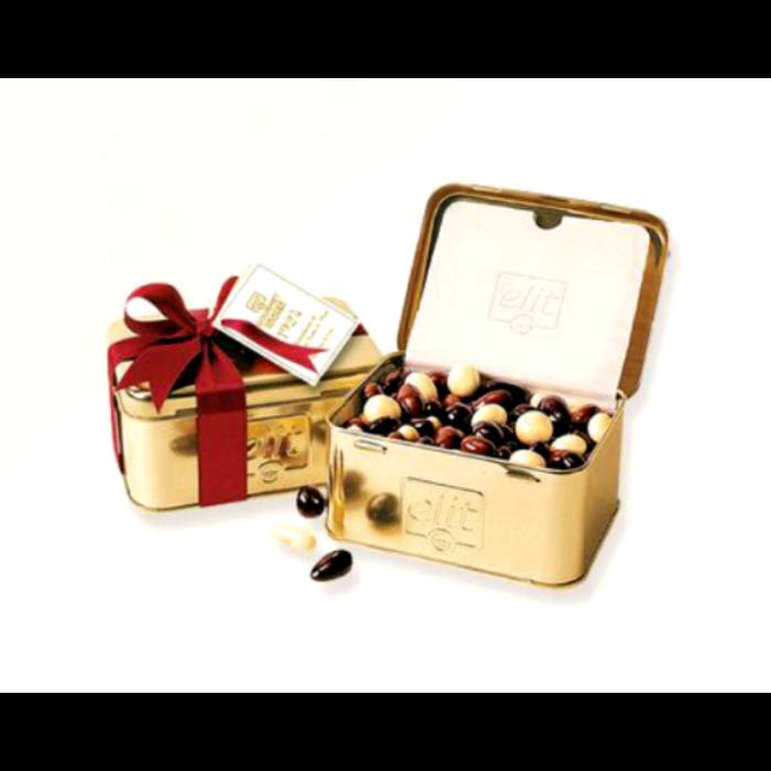 Elit Gourmet Dragee Chocolate Fruits & Nuts arany 250g