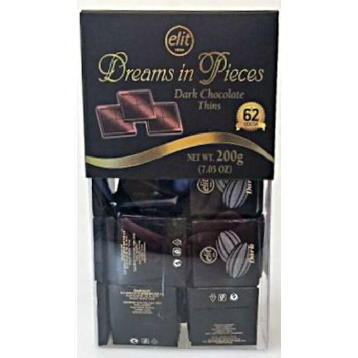 Elit Dreams in Pieces Étcsokoládé Válogatás 200g