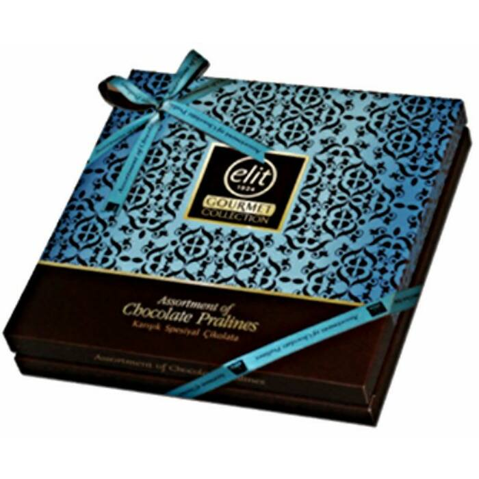 Elit Gourmet Special Csokoládé Praliné Válogatás Blue Box 365g