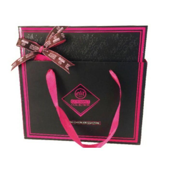 Elit Gourmet Csokoládé Praliné Válogatás Pink  Box 170g