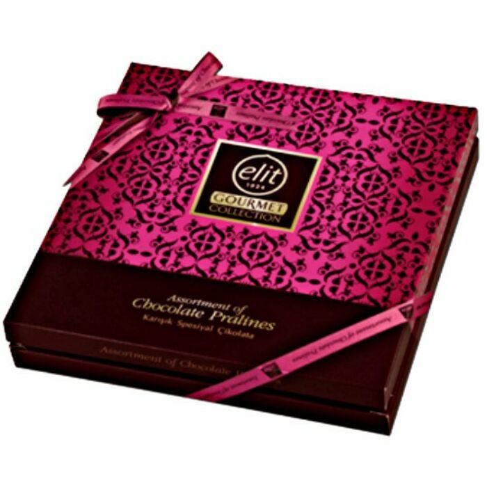 Elit Gourmet Special Csokoládé Praliné Válogatás Pink  Box 365 g