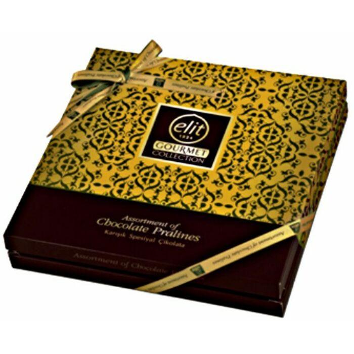 Elit Gourmet Special Csokoládé Praliné Válogatás Yellow  Box 365 g