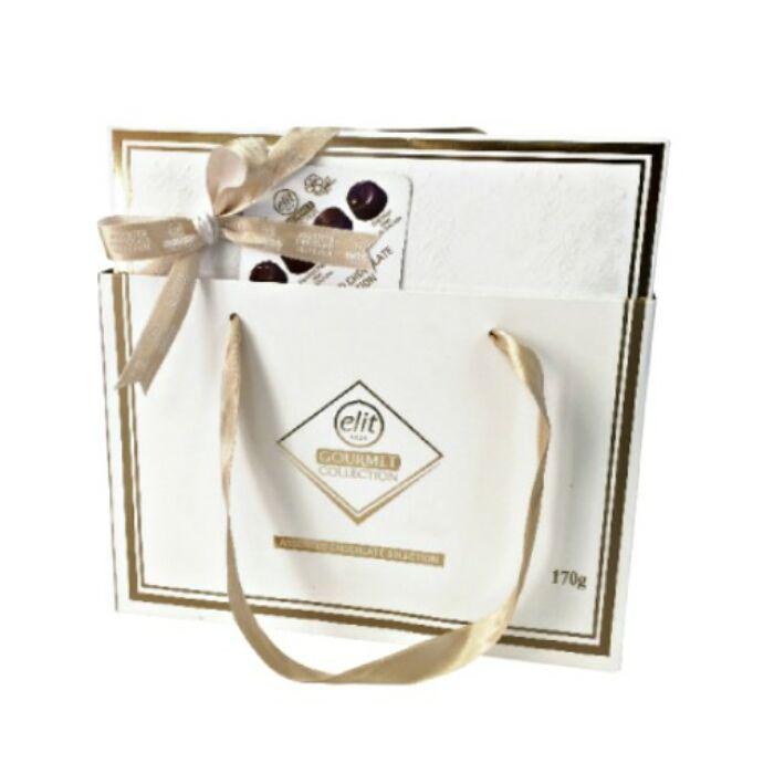 Elit Gourmet Csokoládé Praliné Válogatás White  Box 170g