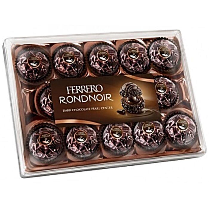 Ferrero Rondnoir Ropogós Ostyakülönlegesség Étcsokoládéval Borítva 138g