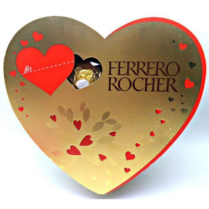 Ferrero Rocher szívdesszert 125g