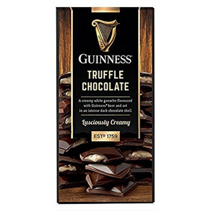 Guinness Sörös Trüffelkrémmel Töltött  Étcsokoládé 90g