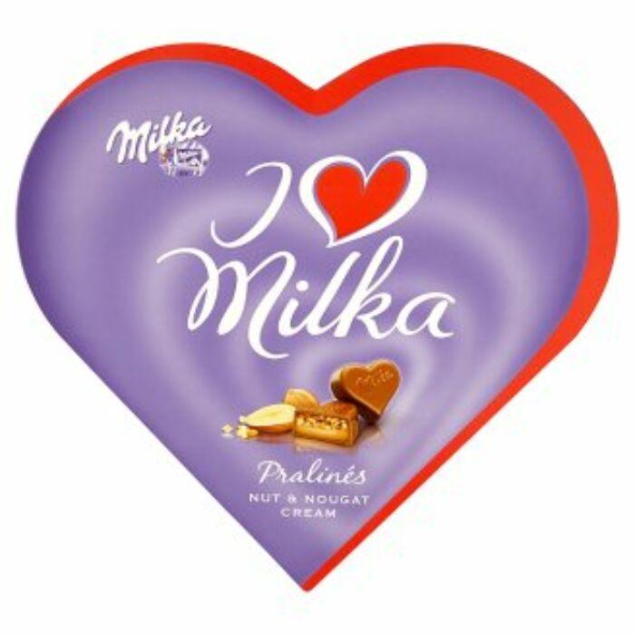 Milka I Love Mogyorókrémes 38,5g