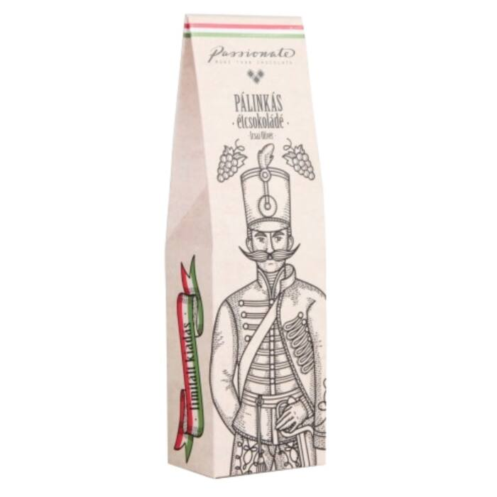 Passionate Irsai Olivér Pálinkás Étcsokoládé Bonbon Díszdobozban 80g