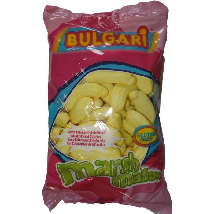 Bulgari marsh mallow csokival  töltött banán pillecukor 1000g