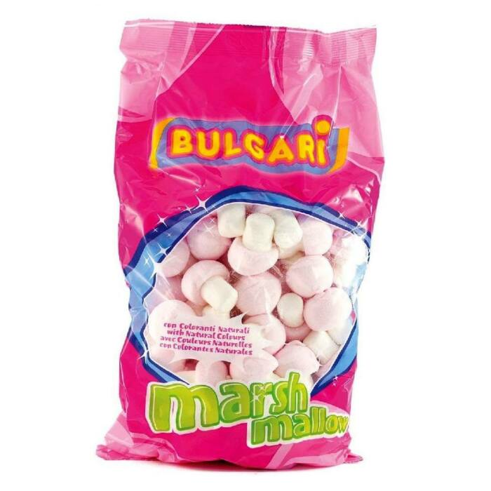 Bulgari marsh mallow gomba pillecukor 900g