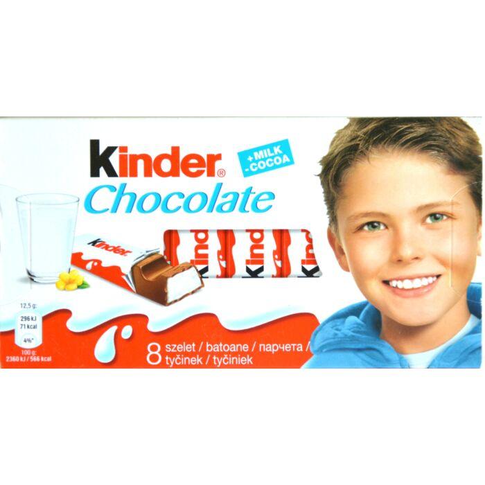 Kinder csokoládé 8x12,5g