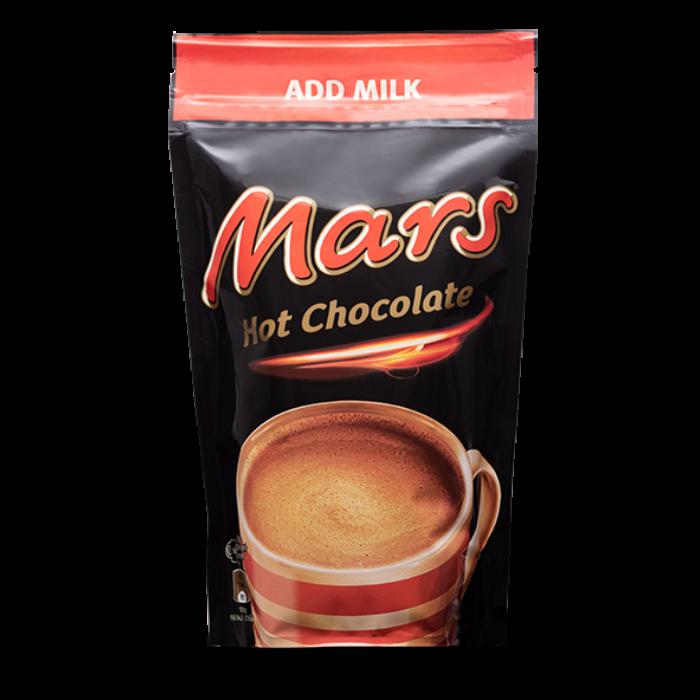 Mars Forró Csokoládé Italpor Csokoládé és Karamell Ízesíttéssel 140g