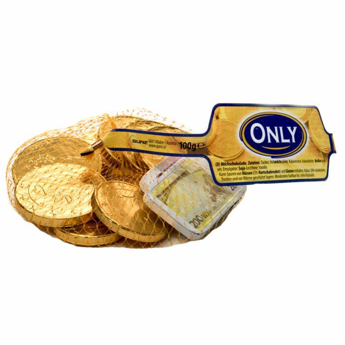 Only Tejcsokoládé Euró Érmék 100g