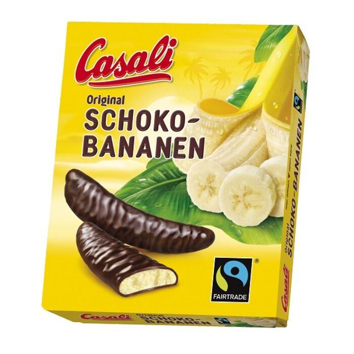 Casali Étcsokoládéba Mártott Banános Habcukor 150g