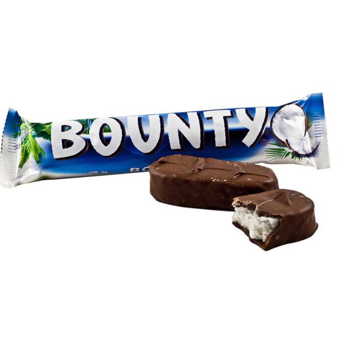 Bounty Tejcsokiba Mártott Kókusz Szeletek 57g
