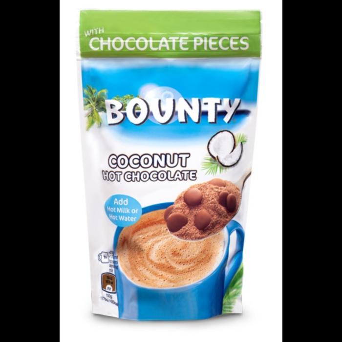 Bounty Kókuszos Forró Csokoládé Italpor Csokoládé Darabkákkal 140g