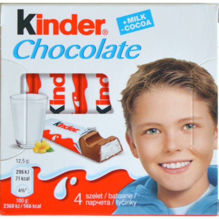 Kinder csokoládé 4x12,5g