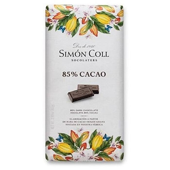 Simon Coll Gluténmentes 85%-os Étcsokoládé 85g